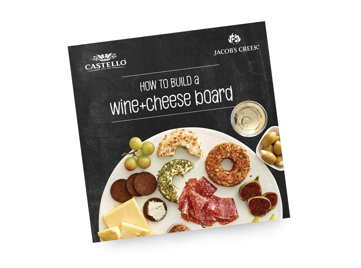 Castello and Jacob's Creek – Wine + cheese? Yes please!