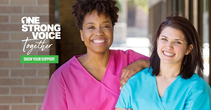 """""""One Strong Voice Together"""" – Manitoba Association of Health Care Professionals"""