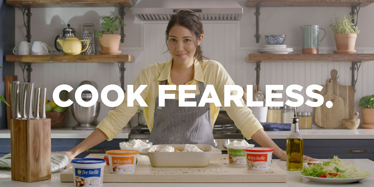 """Cook Fearless"" Tre Stelle TV Commercial"